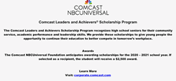 Comcast Leaders and Achievers Scholarship Program